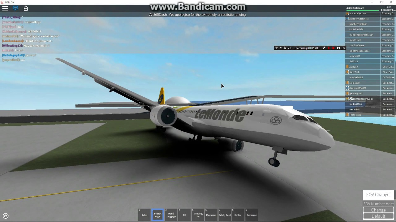 Roblox Airline Seat Booking