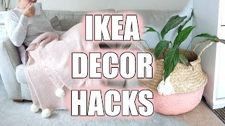 IKEA HOME HACKS | DIY HOME DECOR | Sarah-Jayne Fragola