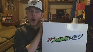 MOUNTAIN DEW SENT ME A PACKAGE! | DEWcision 2016 unboxing