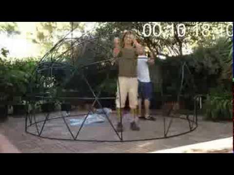 Garden Igloo mobiler Wintergarten Aufbauanleitung YouTube