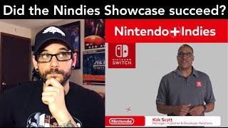 Did the Nintendo Nindies Showcase 2018 deliver or disappoint? (Nintendo Switch) | Ro2R