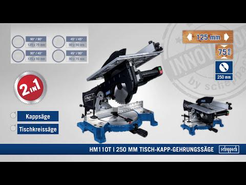 Scheppach | Tisch-Kapp-Gehrungssäge HM110T | DE