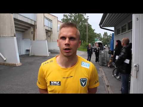 ACOTV - Jälkipelit ottelusta TPS - AC Oulu 27.6.2015