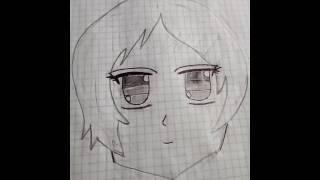 Mi primer dibujo anime!!!! (sin calcar)
