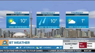 Enjoy a mild weather day in the GTA
