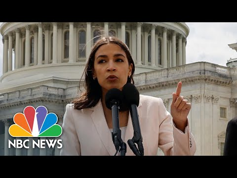 Cortez Reintroduces Postal Banking, Shares Positives It Could Have On Americans   NBC News NOW