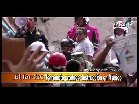 Marino Zapete: Huracan María daña a Puerto Rico Seg-1 20/09/17