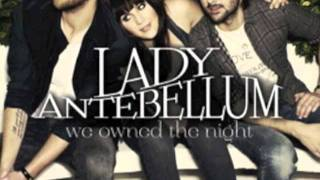 Lady Antebellum -  We own the night