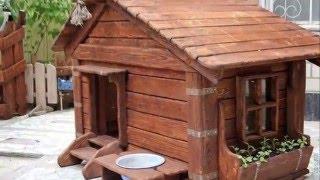 Как сделать будку для собаки или собачья жизнь
