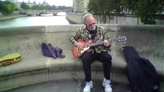Fongster100! Live at the Pont Neuf Paris