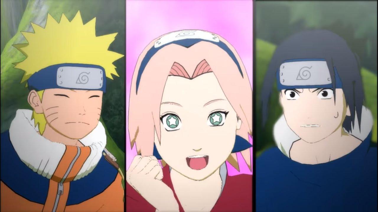 Naruto Vs Sasuke As Little Kids