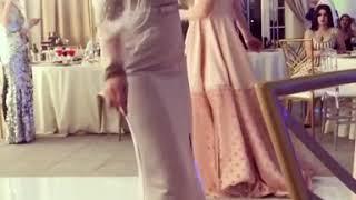 Танец Ксении Бородиной на свадьбе Евгения Кузина и Александры Артемовой