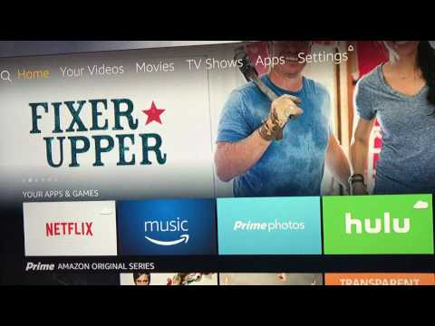 New Amazon Home Screen How To Find The Kodi Icon On The New Screen