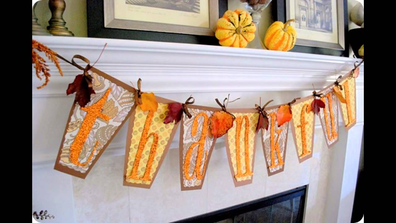 Diy thanksgiving decor kids - Diy Thanksgiving Decor Kids 35