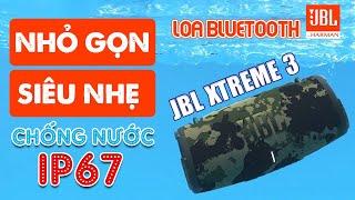 Loa JBL Xtreme 3 mới nhất 2021,  Bass uy lực - Pin 15h, đi Dã ngoại tốt, Công nghệ chống nước IP67