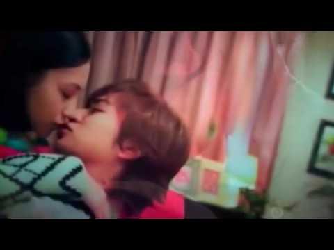 水原希子演技無し!本気キスシーン Noriko Suwon acting without! Serious kissing scene -1