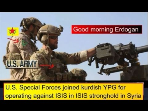 Image result for U.S. special forces with Kurds