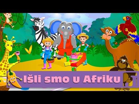 Išli smo u Afriku - Minja Subota | Dečije pesme | Pesme za decu | Jaccoled C