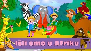 Išli smo u Afriku - Minja Subota  Dečije pesme  Pesme za decu  Jaccoled C