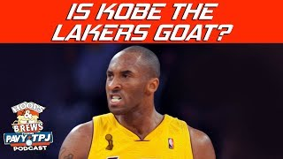Is Kobe The Greatest Laker Ever ? | Hoops N Brews