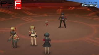 Persona 3 FES: Vs Junpei & Koromaru [The Answer]