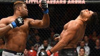 UFC 218 Alistar Overeem vs Francis Ngannou Brutal Knockout