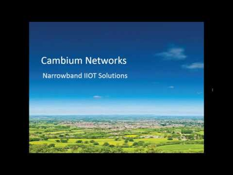 Cambium Networks - Industrial Solutions webinar