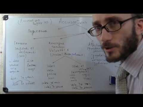 Латинский синтаксис. Урок 21.  Accusativus cum infinitivo