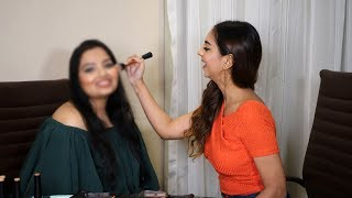 I GAVE MY FOLLOWER A MAKEUP MAKEOVER! SOFT, EVERYDAY GLAM LOOK