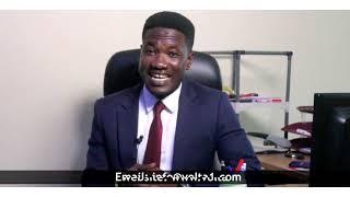 Gambar cover Bismark Sellally Lawson speaks for V1 TV
