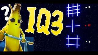 マシュメロクラン1の低IQが挑むIQテストデスラン -フォートナイト【KUN】