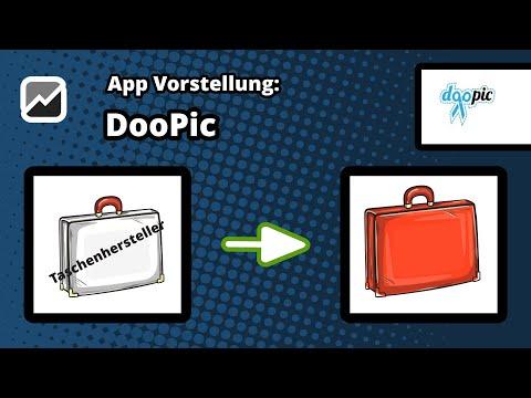 tricoma - App doopic - Die Oberfläche