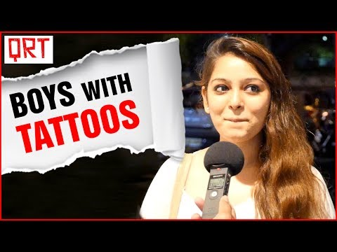 Do Girls Like Boys With TATTOOS ? | Best Tattoo Designs | Best Place For Tattoo |Quick Reaction Team