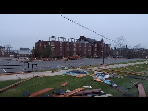 Jacksonville State University March 2018 Tornado: Morning After