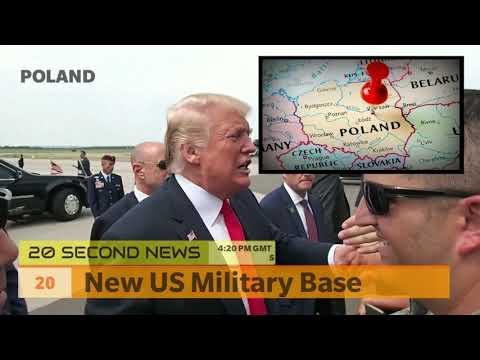 New US Military Base in Poland - Breaking NEWS Today