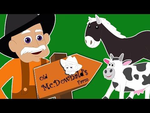 Old MacDonald tinha uma fazenda | rimas de berçário canções em português | Old Macdonald