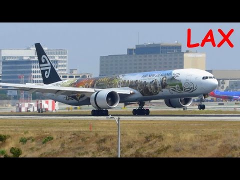 HEAVY ACTION! Planespotting at Los Angeles Intl. Airport LAX - 15 Minutes FULL HD ACTION!
