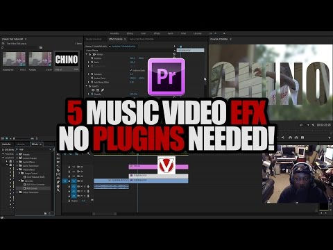 (How To) 5 Music Video EFX | Mirror,Invert,Jump In & Out, Stutter & More!