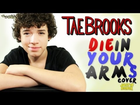 Justin Bieber - Die In Your Arms - Cover by Tae Brooks - (Remix BeatsByiTALY)