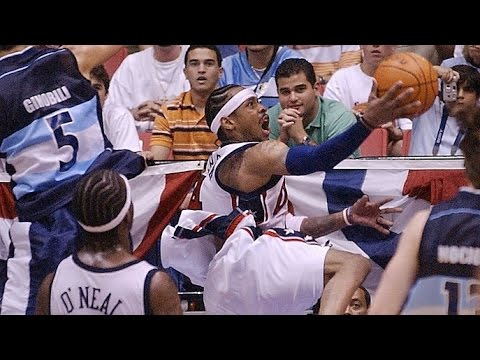 Argentina vs USA 2003 FIBA Americas Championship Quarter Final Round game