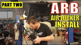 ARB AIR LOCKER INSTALL - IN DETAIL - TOYOTA HILUX SURF [PART 2]