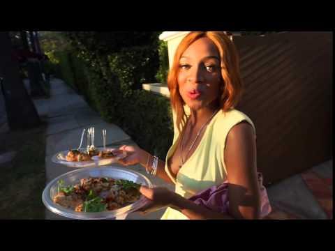 Lil Mama Enjoys Chef Judson Todd Allens Food