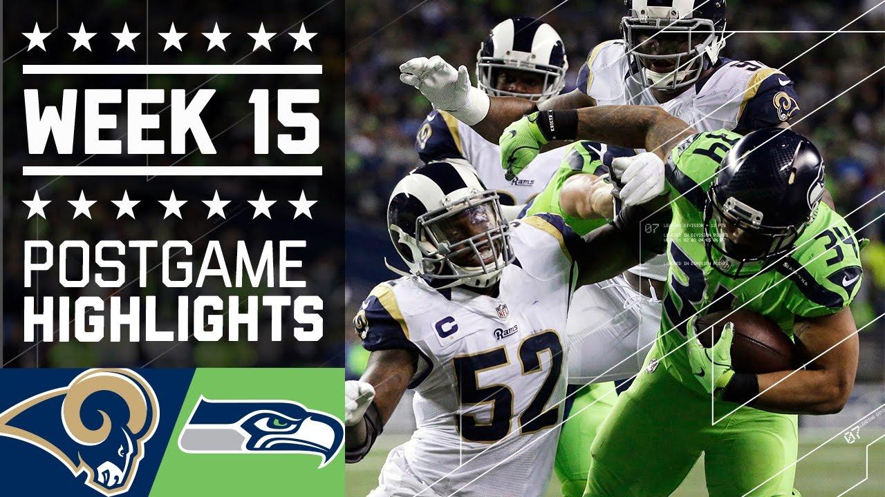 Rams Vs Seahawks Nfl Week 15 Game Highlights Youtube