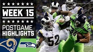 Rams vs. Seahawks | NFL Week 15 Game Highlights