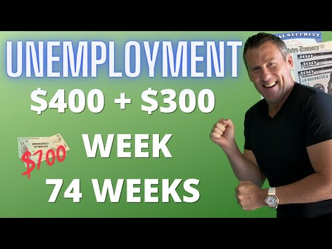 74 WEEKS Unemployment Benefits $400 Unemployment Extension S