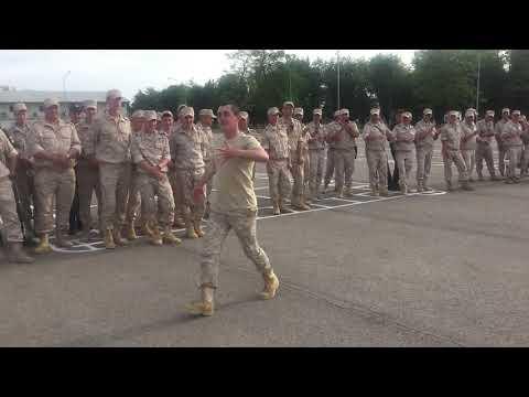 Концерт на территории 7 военной базы МО РФ