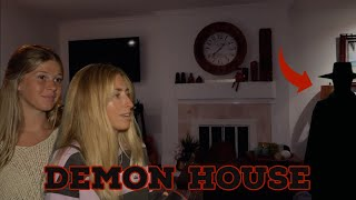 MEDIUM Investigates a House HAUNTED by a DEMON..   Mackies Haunted House 