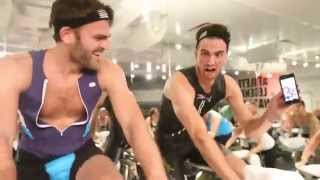 The Chainsmokers Invade Soul Cycle