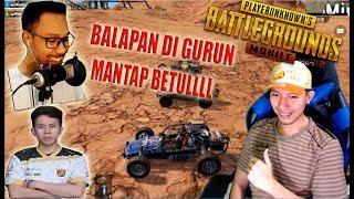 BALAPAN DI GURUN BARENG BANG ALEX, BENNYMOZA, RENDY TIK TOK - PUBG MOBILE INDONESIA