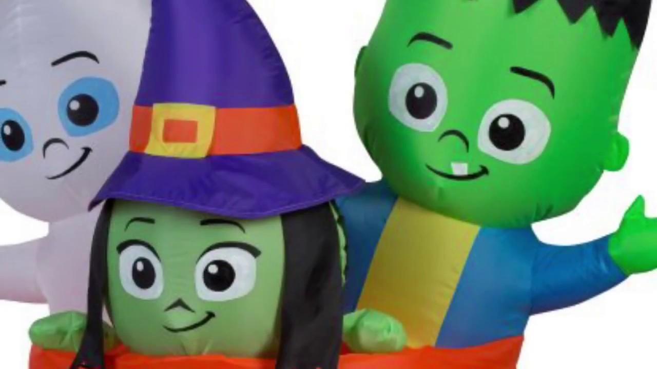 all new walmart halloween inflatables. links below ⤵ - youtube
